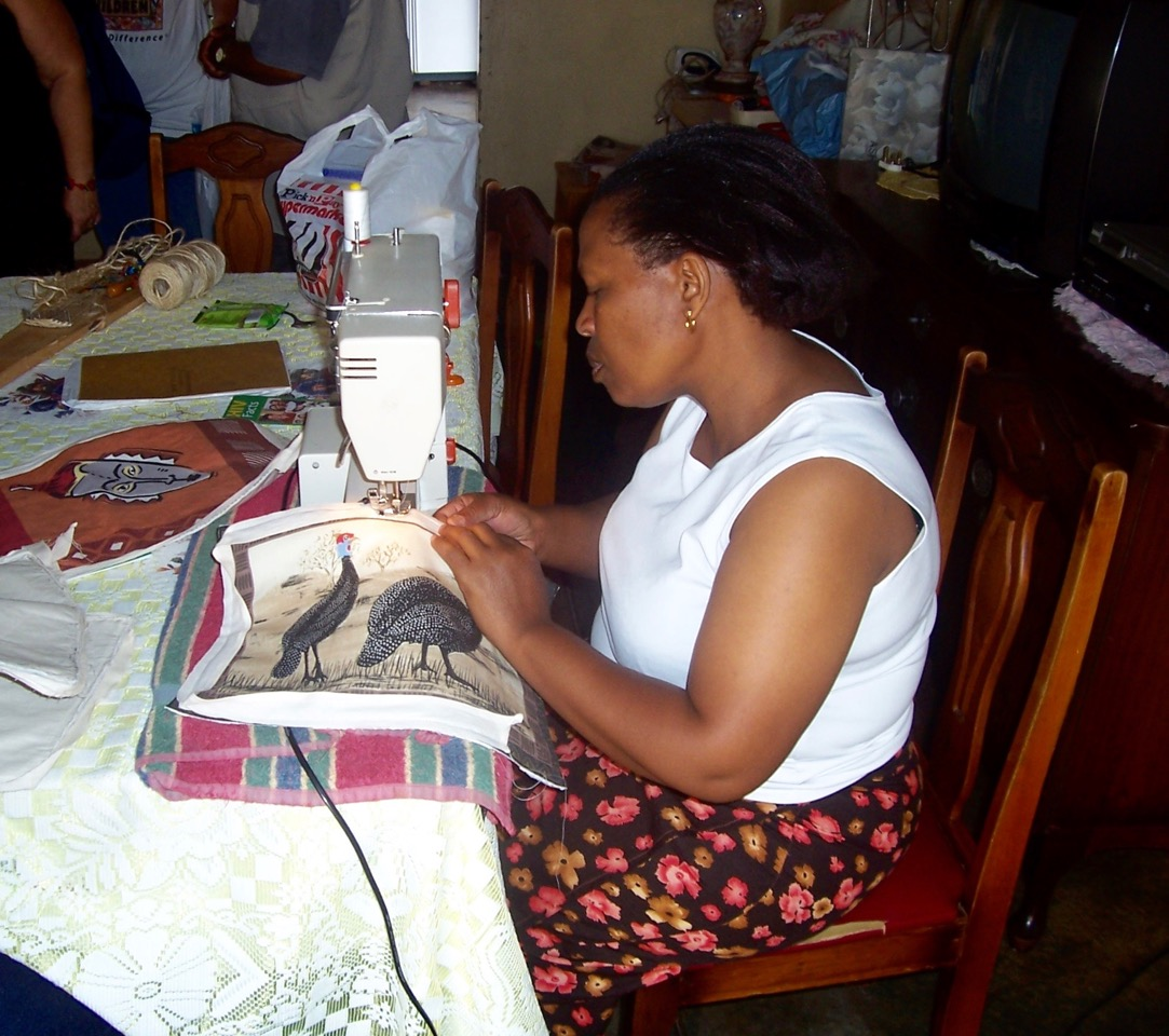 South African Thusanang Sewing Project