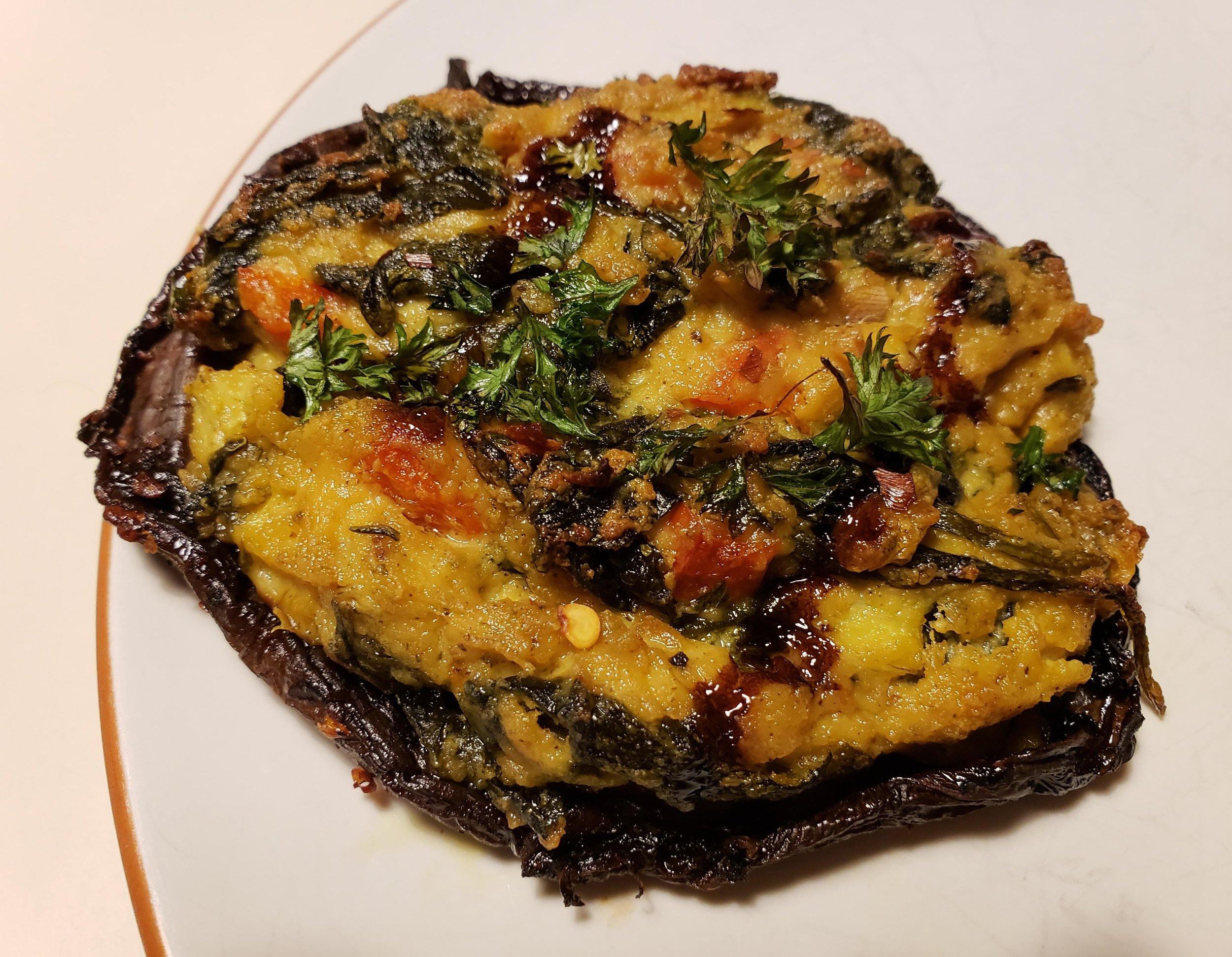Spinach and Artichoke Dip Stuffed Mushrooms.jpeg