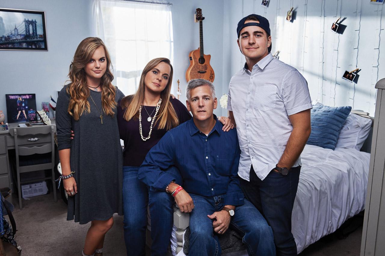 Kimi, Amy, Jason, and Jacob Carter •  Photo by John Shearer