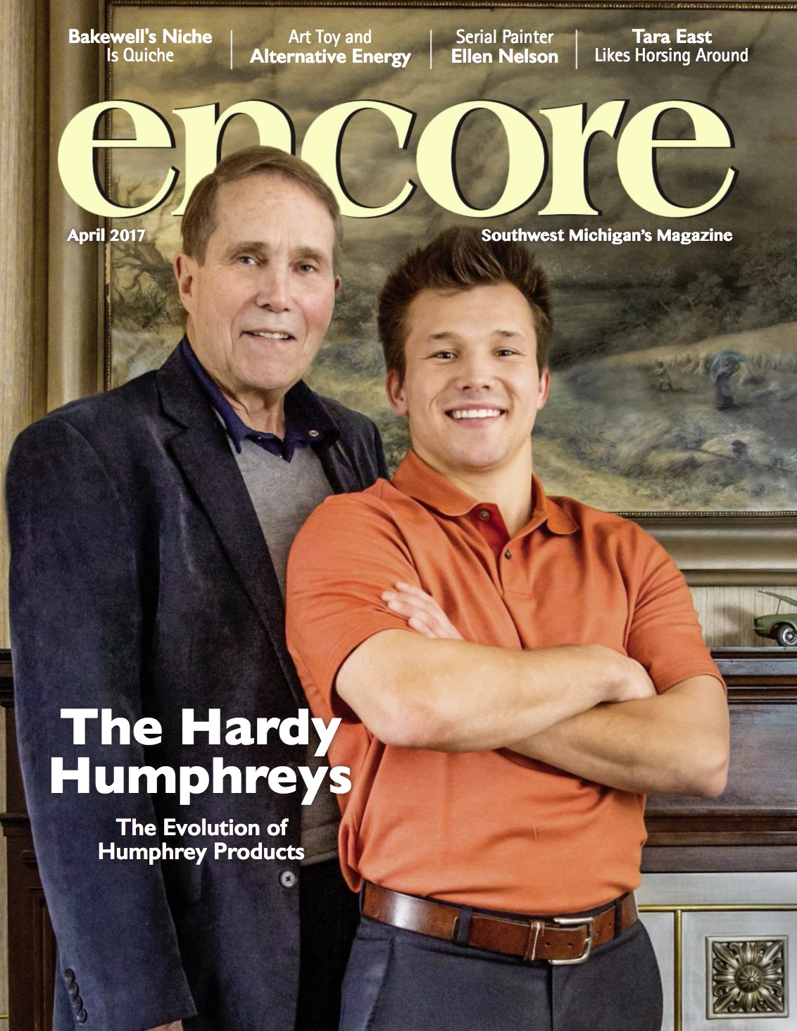 Click here to see this month issue of ENCORE magazine!