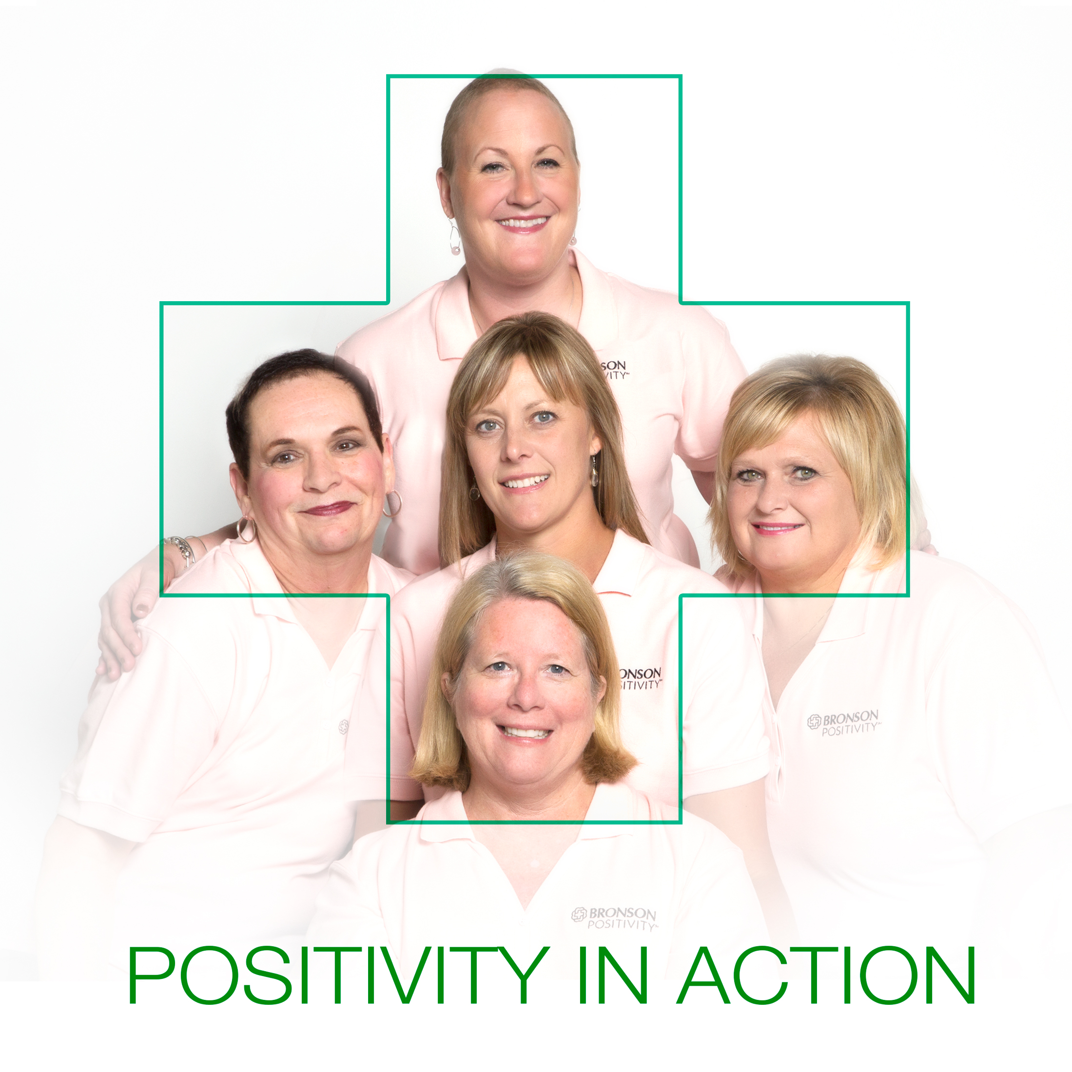 Shannon and the beautiful group of women chosen by Bronson Hospital to be the faces of the mammogram awareness campaign which ended up on billboards and informational material around southwest Michigan.