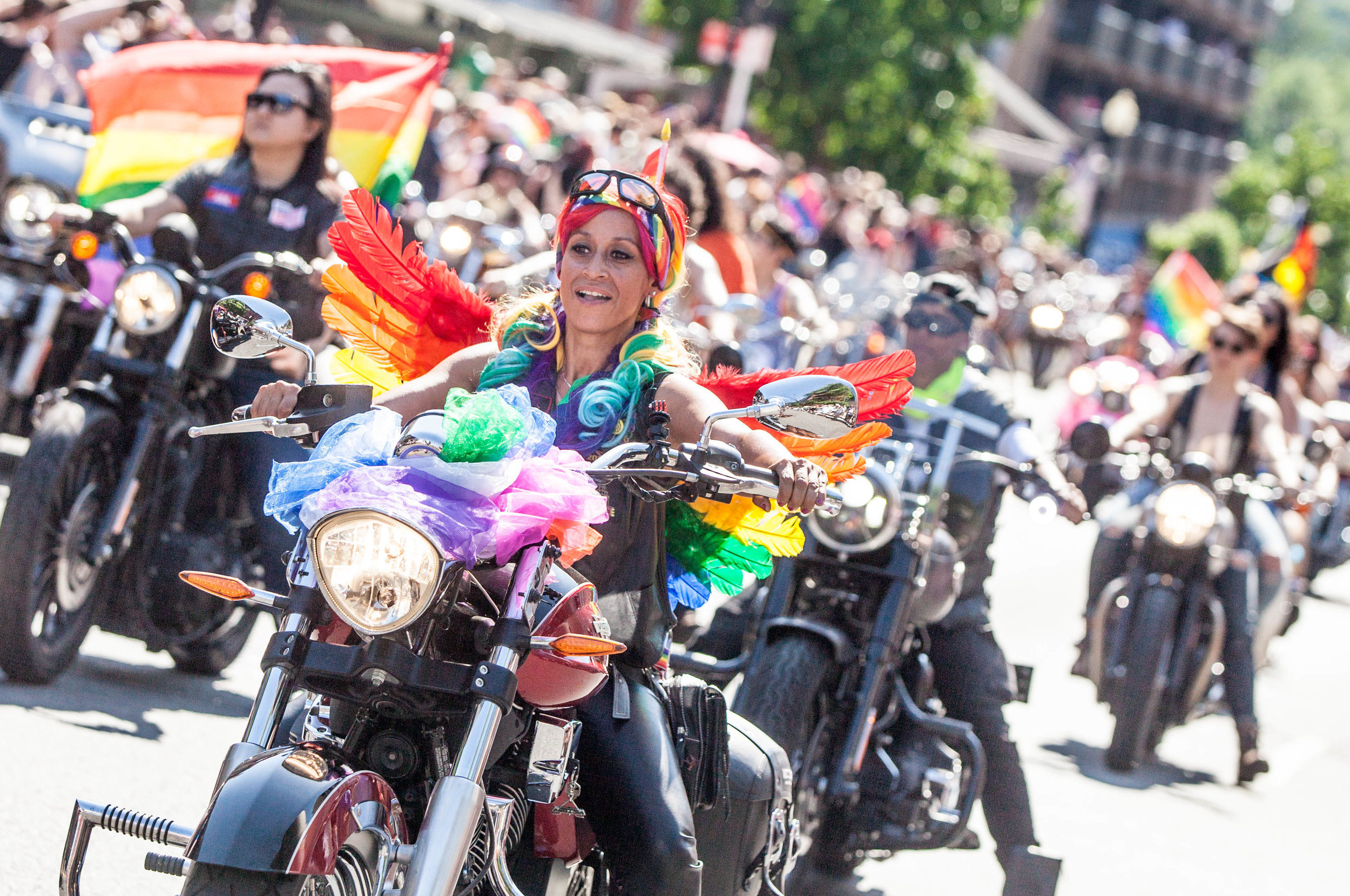 Click on the image to see the gallery of images from the 2017 DC Pride Parade