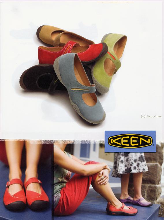 Keen  Women's colorful Market Street shoes.