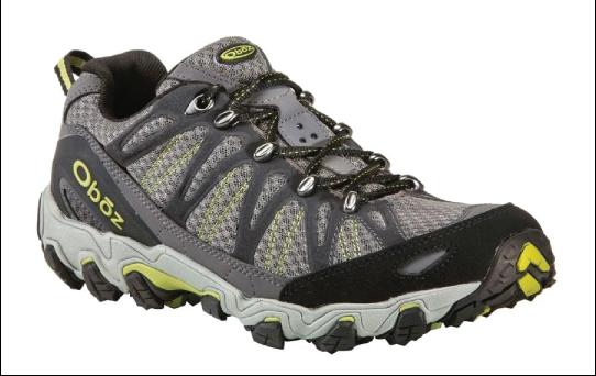 Oboz  Traverse Men's hiking shoe.