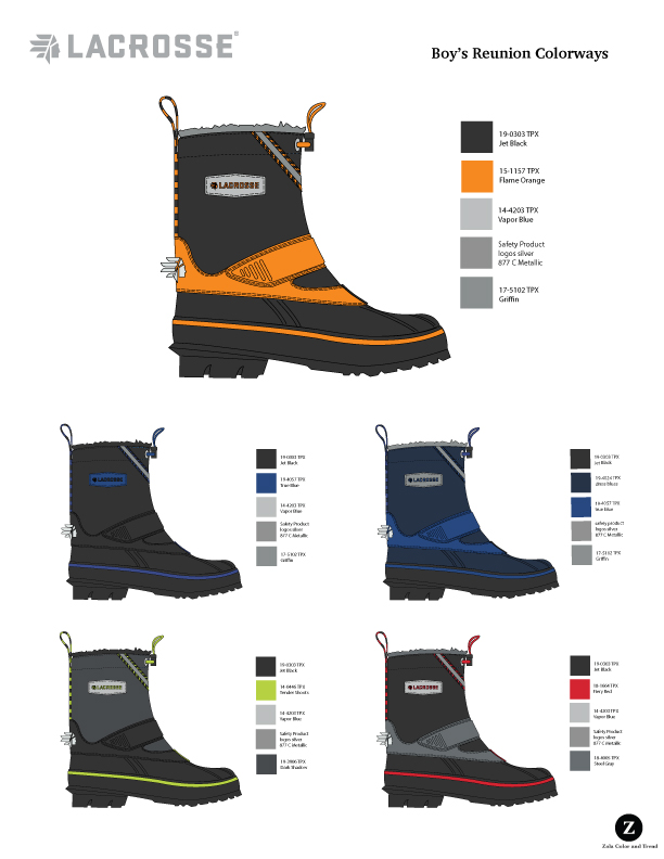 LaCrosse Kids  Boys Winter Boot color options
