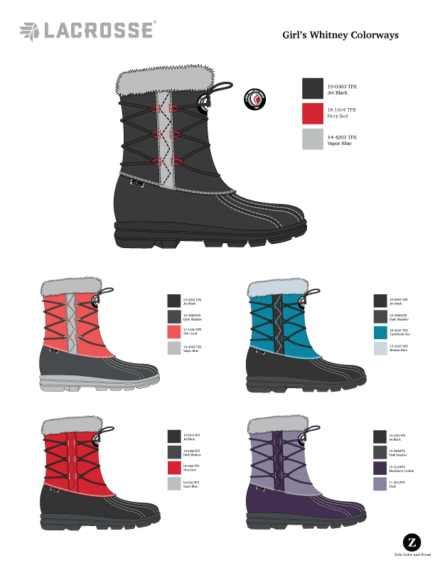 LaCrosse Kids  Girls Winter Boot color options