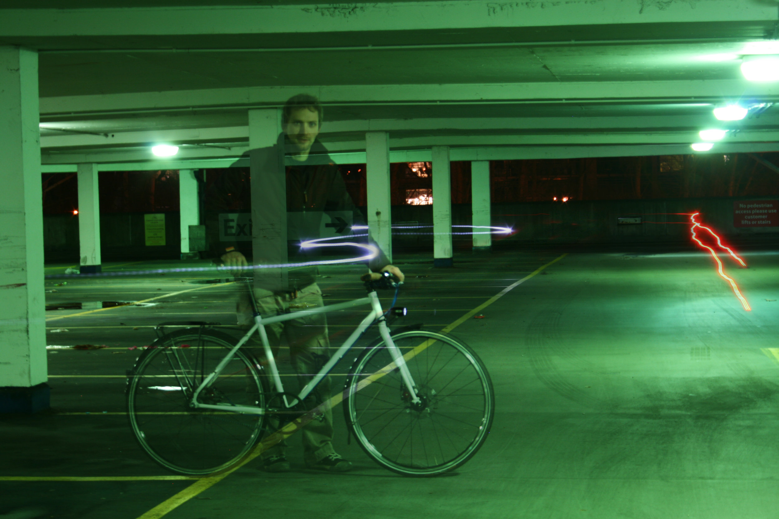 Mark with first Milk Bikes RDA Prototype