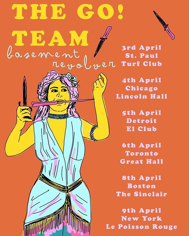✨ YO! Exciting news! We have the privilege of supporting @itsthegoteam for part of their 2018 USA tour! Come hang with us and dance a lot about it ✨