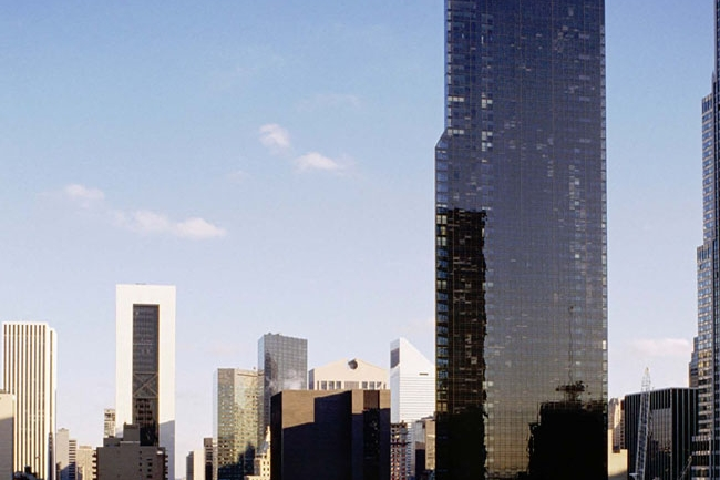 METRO TOWER - A postmodern residential tower located near the historic Russian Tea Room in Manhattan