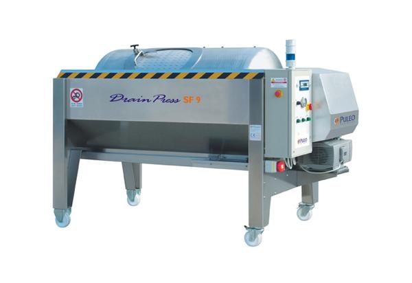 Puleo SF-8 Open Drain Membrane Press