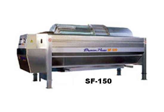 Puleo SF-150 Open Drain Membrane Press