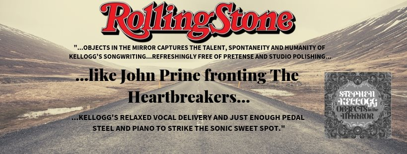 "Read what Rolling Stone had to say about Stephen's new album ""Objects In The Mirror""  HERE !"