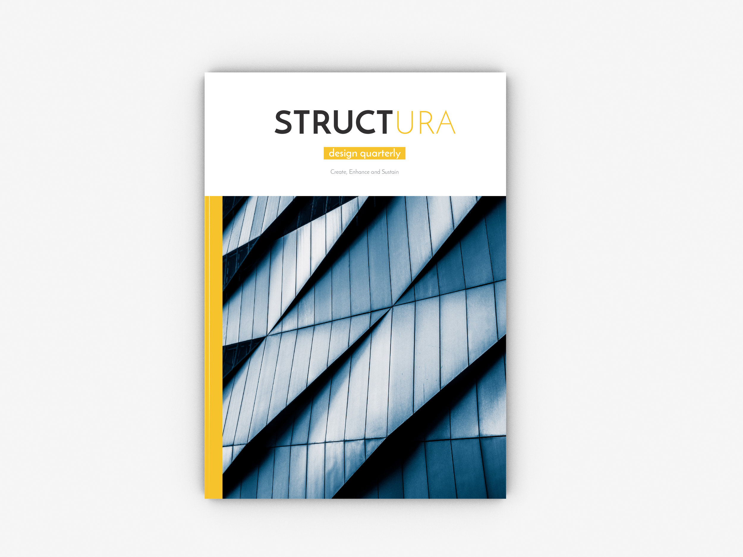 Architectural Magazine Cover Design