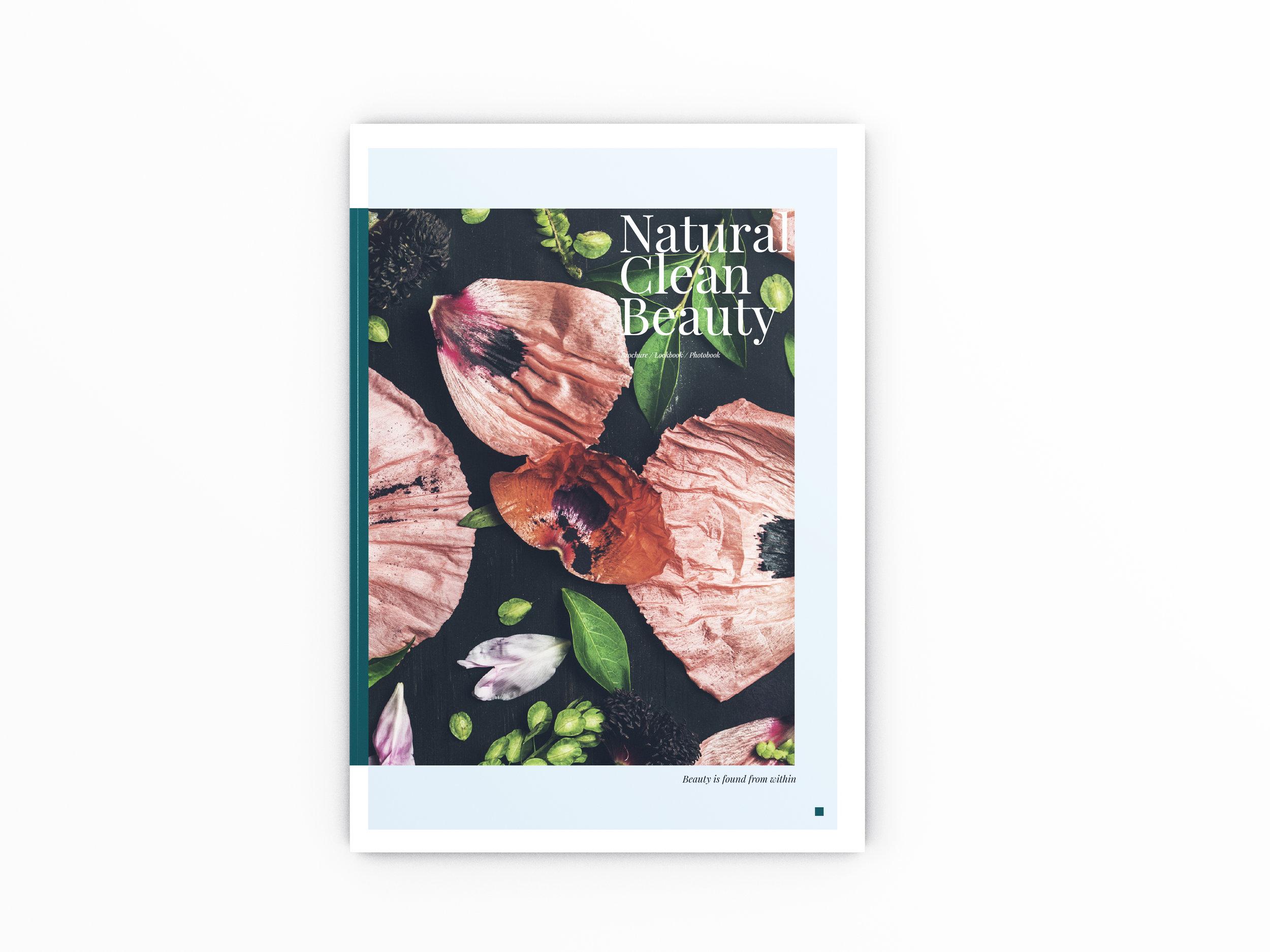 Beauty Brochure Cover
