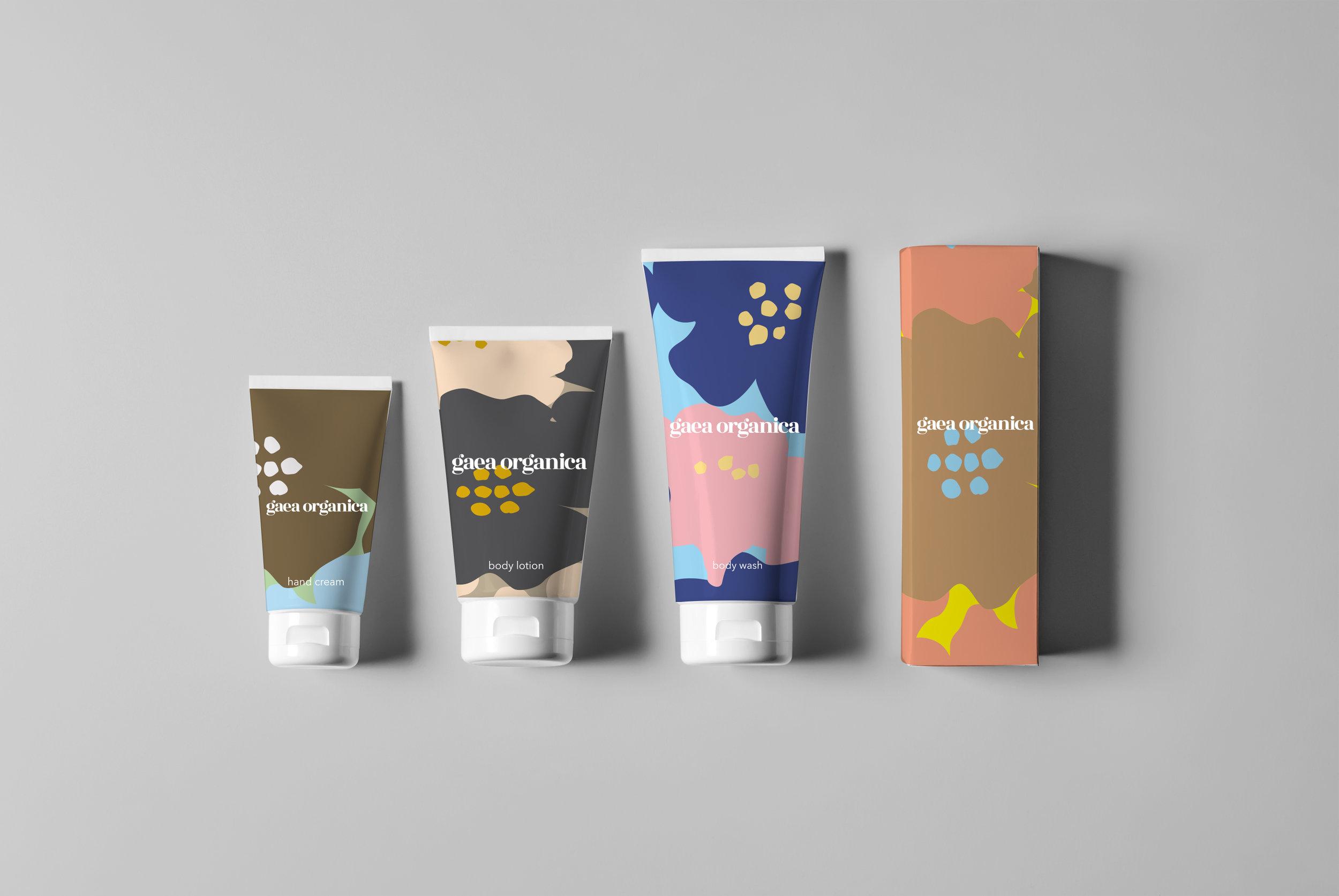 Beauty Packaging Bottles Mock-Up