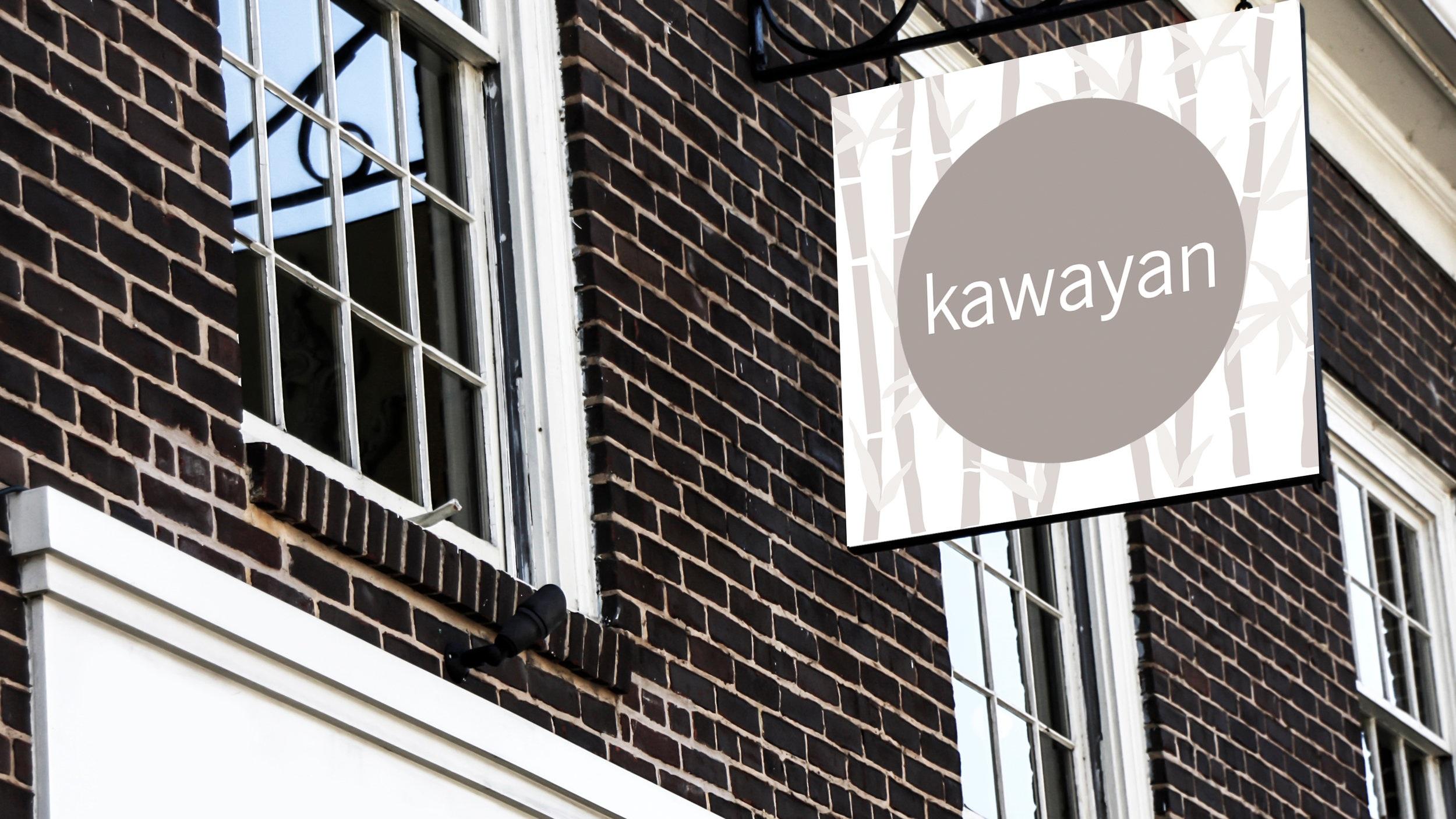 Kawayan Storefront Signage