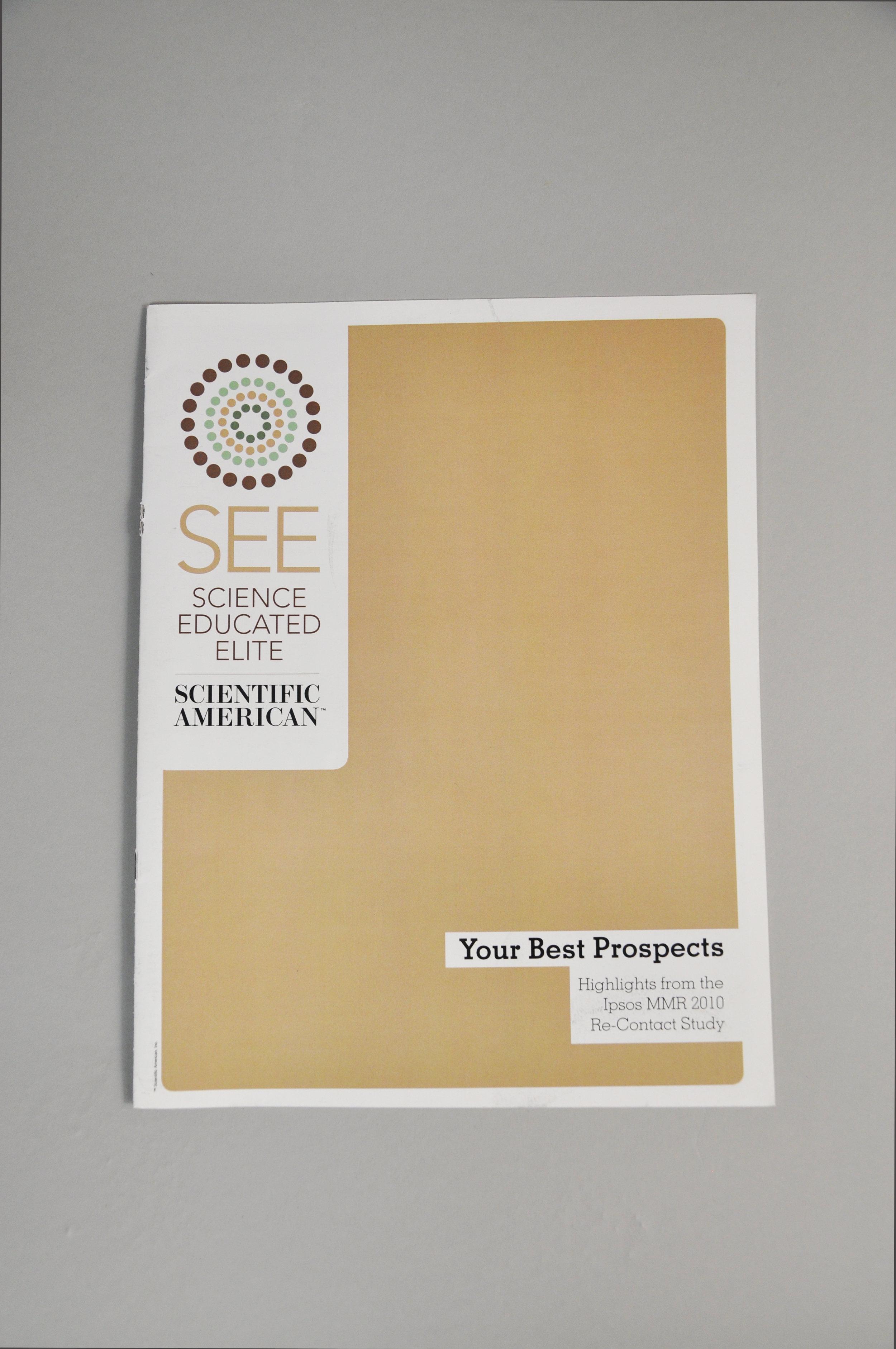 Science Elite Brochure front cover