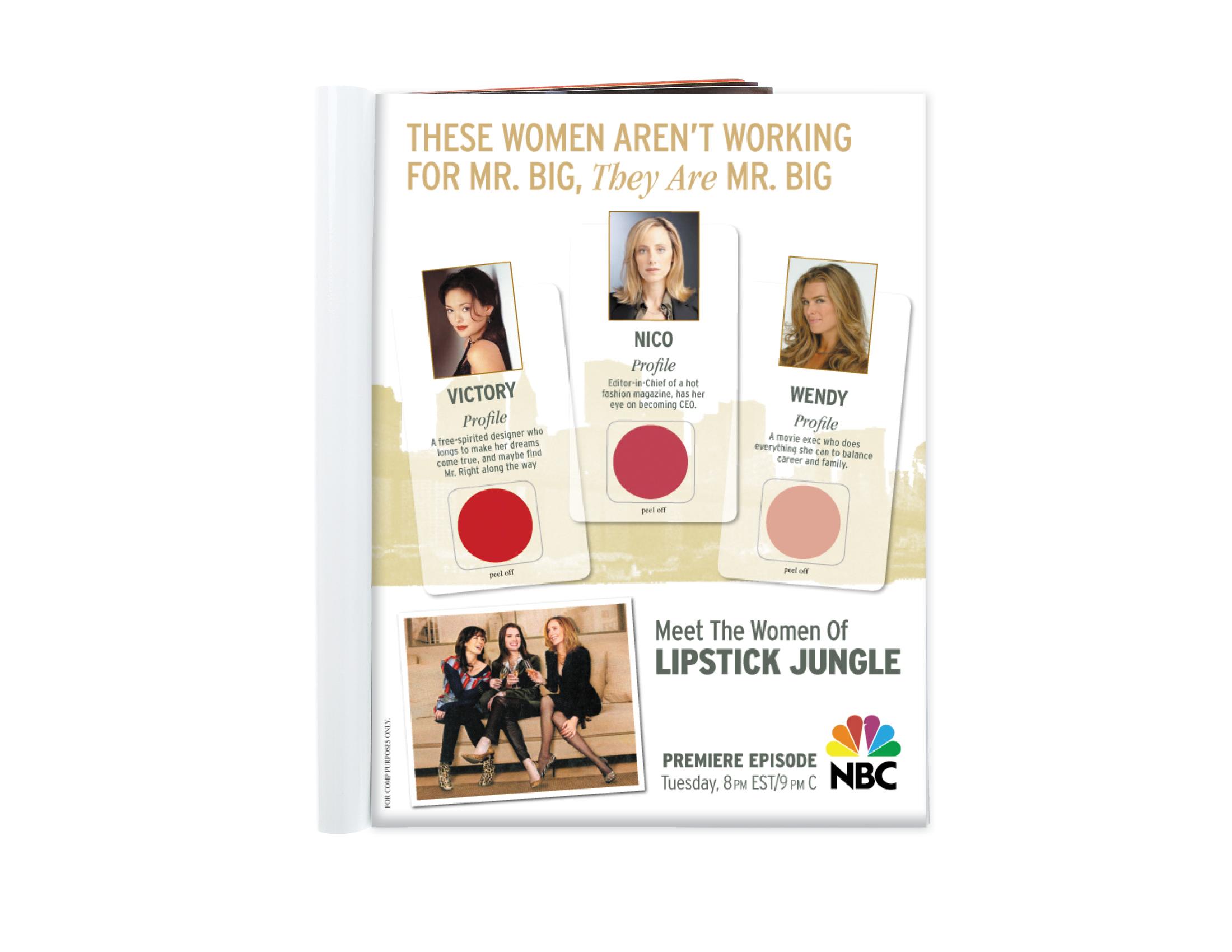 NBC single spread ad