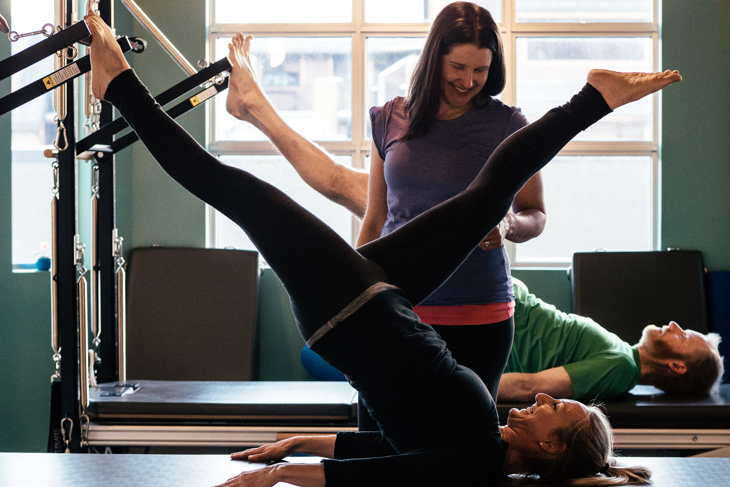 Private Pilates session at Four Peaks Pilates, Canmore