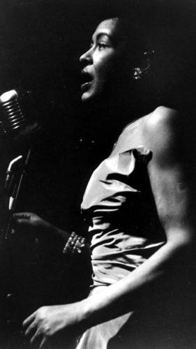 Pictured: Billie Holiday