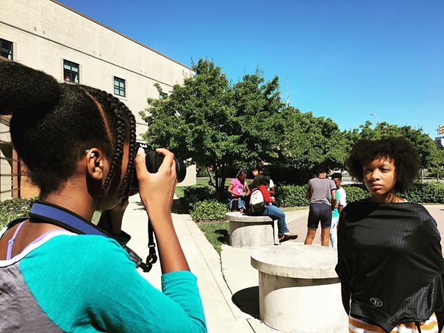 Portrait Practice.  It's our job as citizens to make sure that our stories are told and passed down. Who's documenting the lives of people of color in our communities? Who's sharing their stories?  #algp #allusinwanderland #baltimore #mybmore #portraitphotography