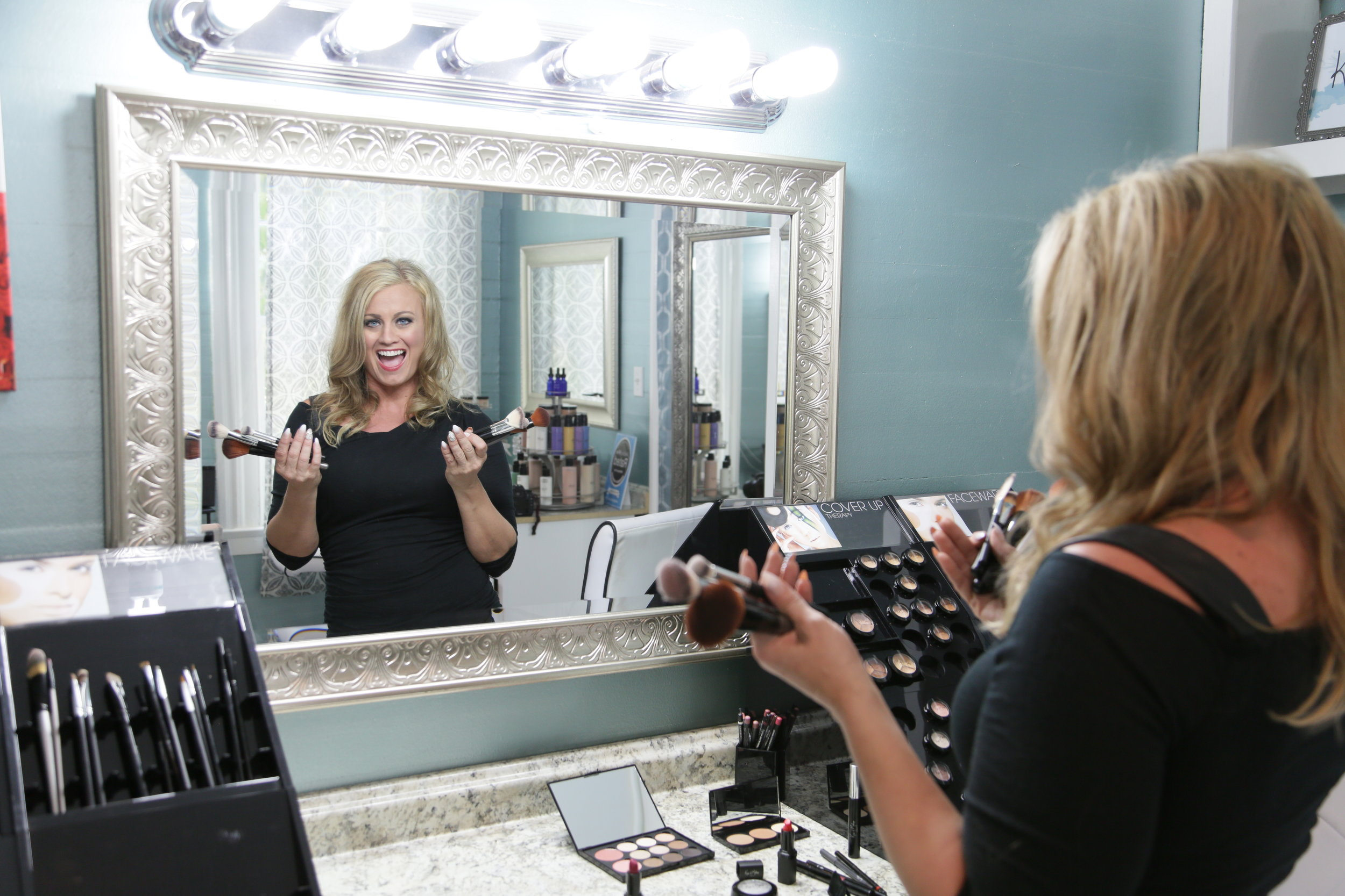 Image of Lorri Bolander - founder of Kiss and Makeup Cosmetics
