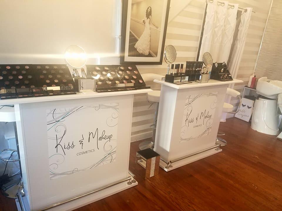 Image of Kiss and Makeup Cosmetics makeup counters