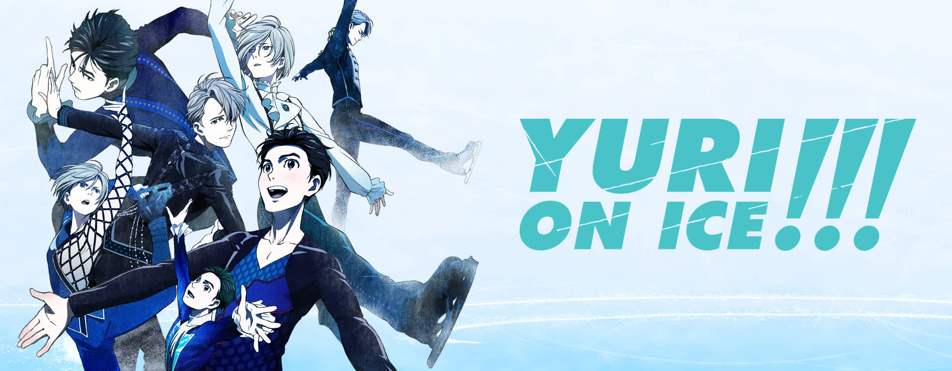 (L-R middle row) Yurio, Victor, and Yuri