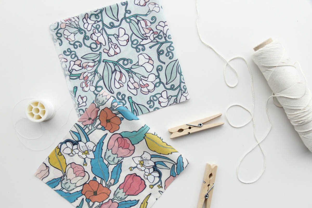 Our  Wild Sweet Pea  and  Flamenco Hibiscus  prints