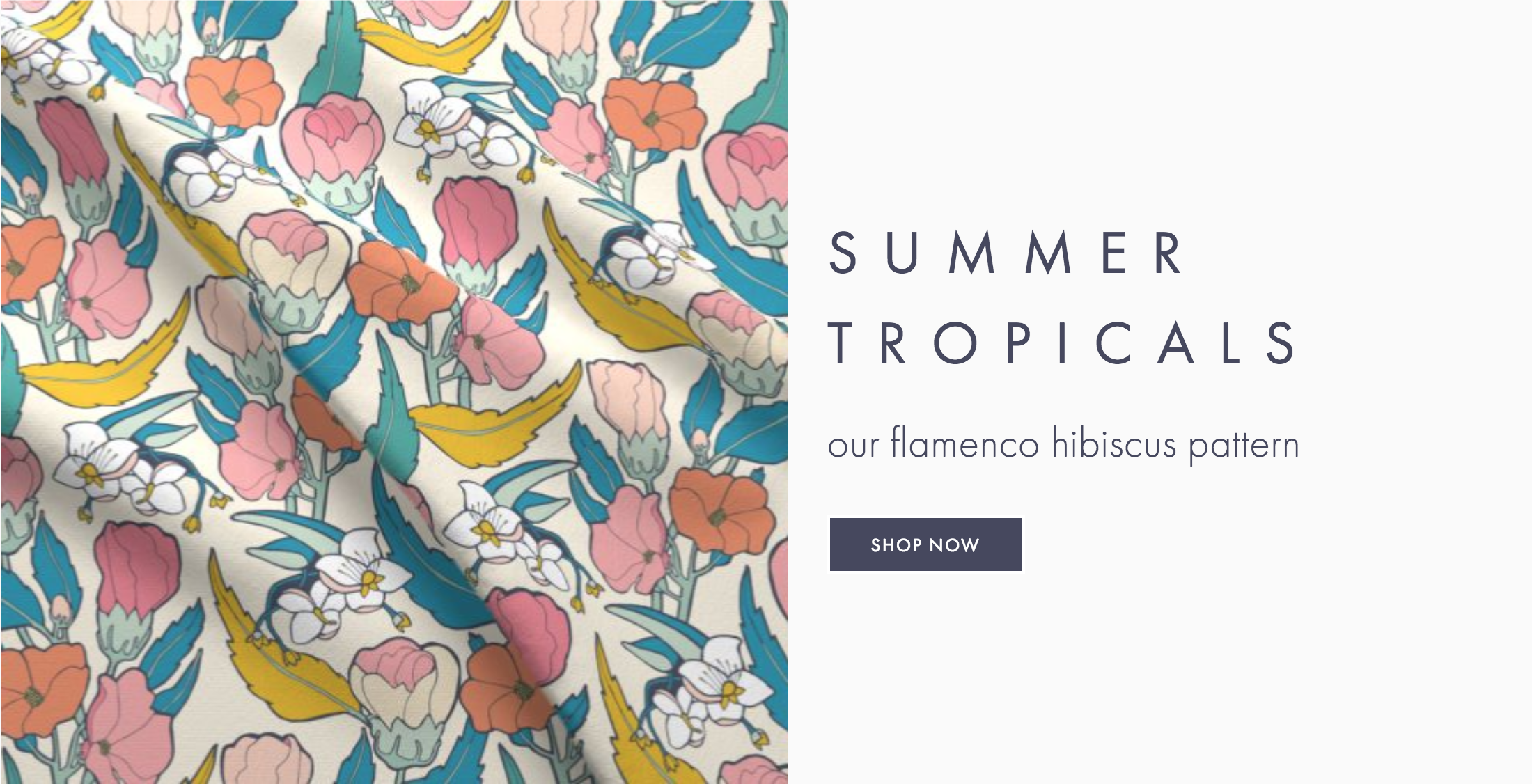 Root & Branch Fabrics: Available now on Spoonflower