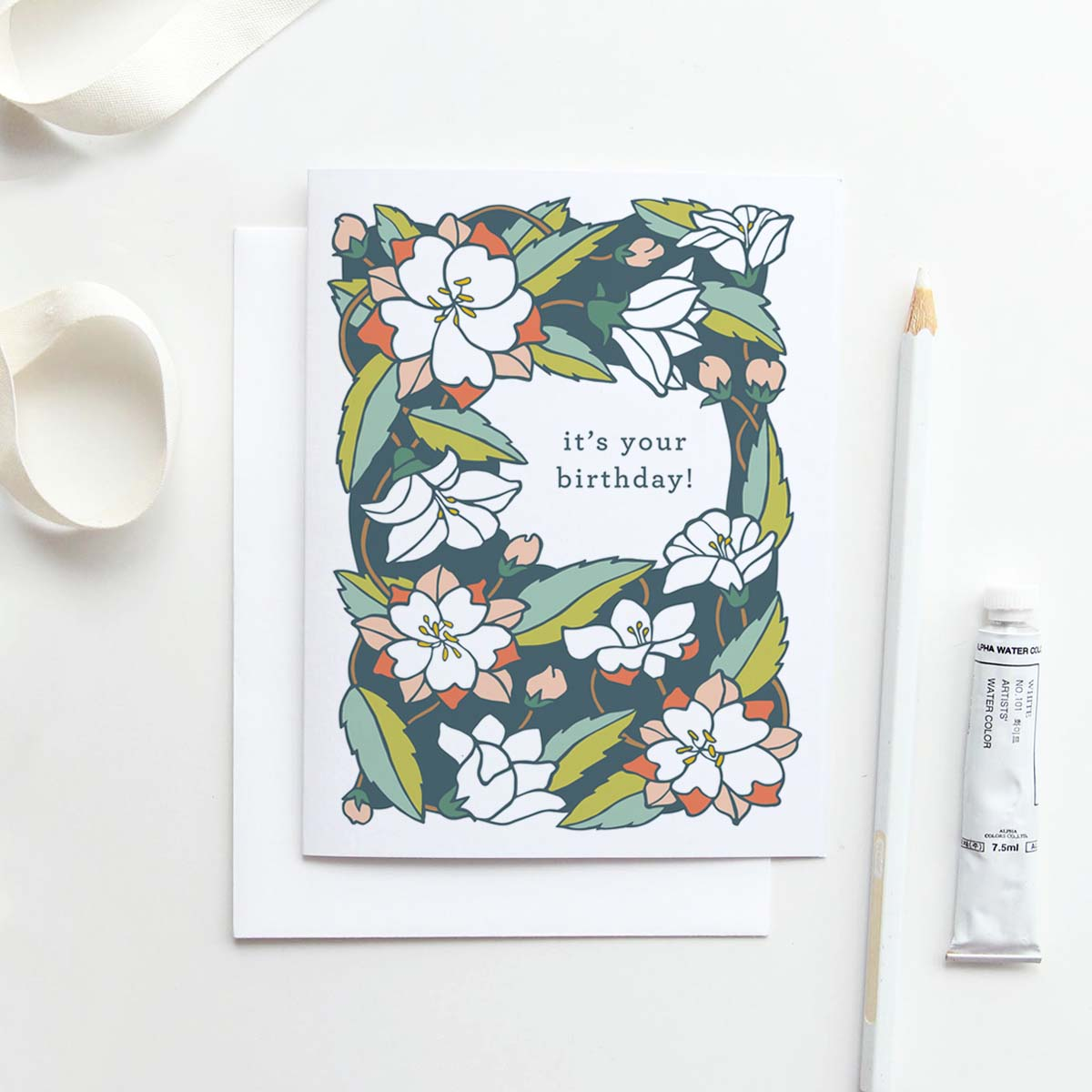Our It's Your Birthday! card in Chinese Bellflower