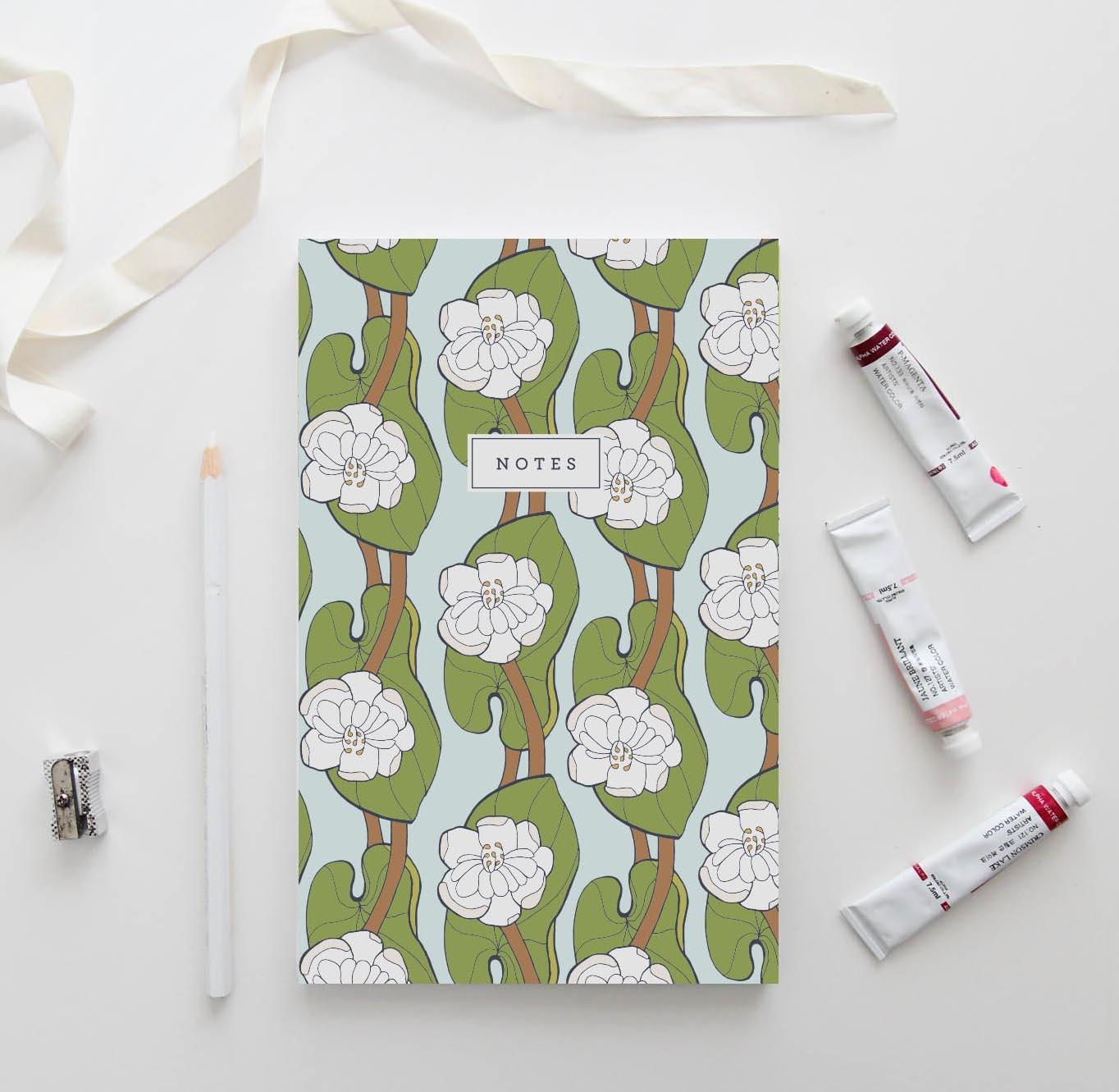 Lotus Leaf Notebook