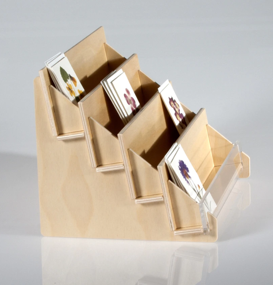 3-Tier Greeting Card Rack from Clear Solutions