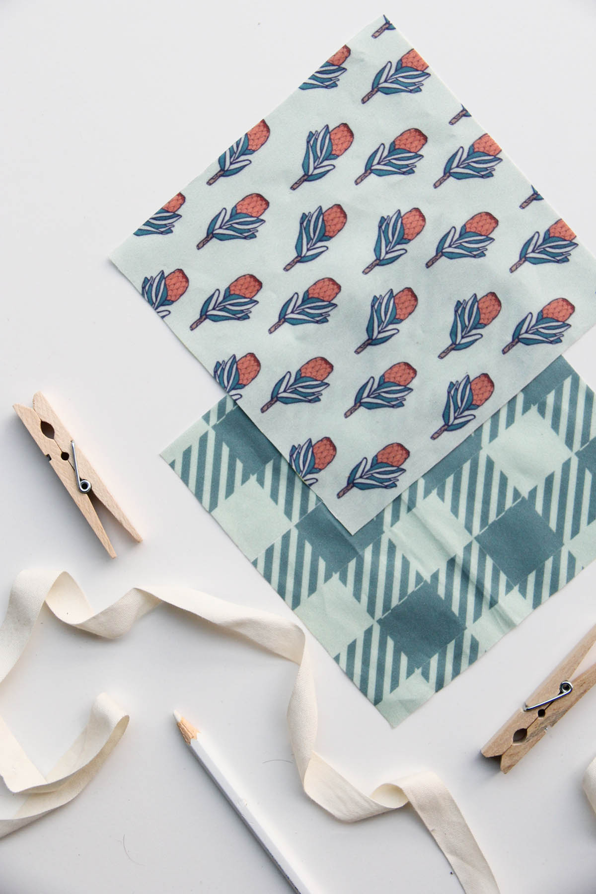 Protea Picnic: Our Spring Fabric Collection on Spoonflower, Designed by Jessie Tyree Jenness for Root & Branch Paper Co.