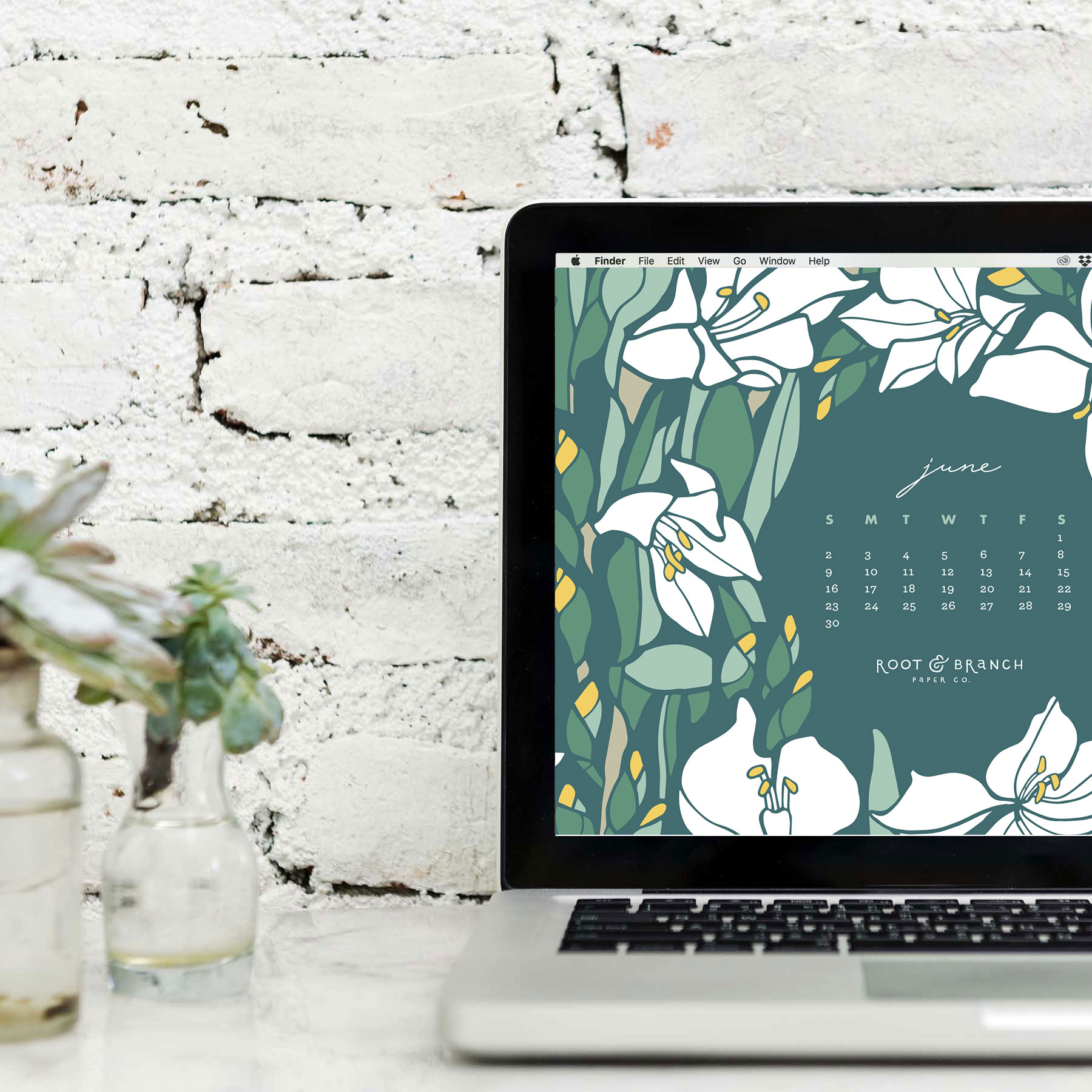 June 2019 Calendar A Free Digital Desktop Wallpaper For Download