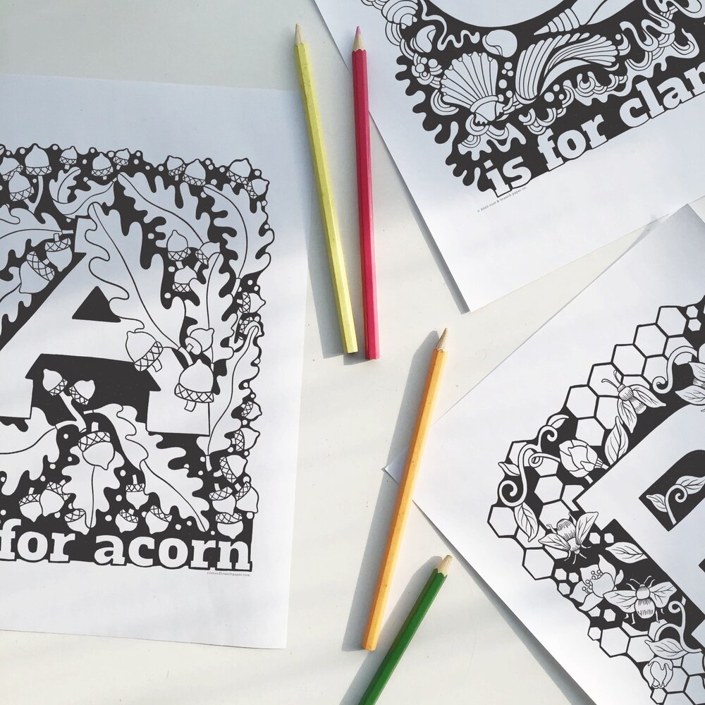 Free Printable Coloring Pages Blog Root Branch Paper Co