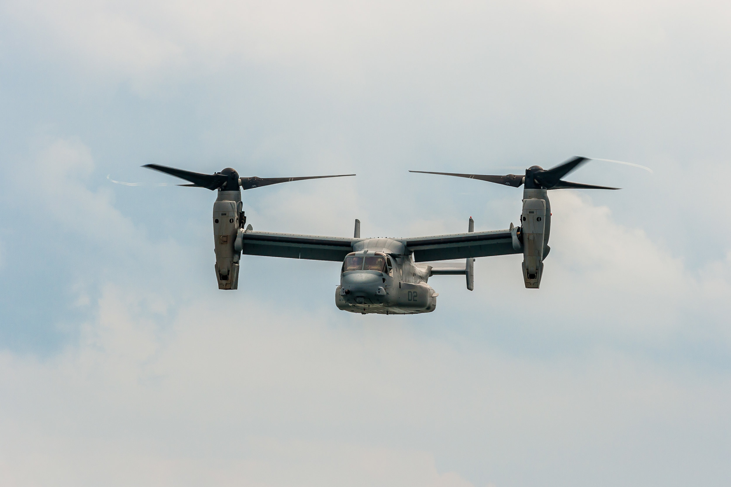The Osprey at the Air Show