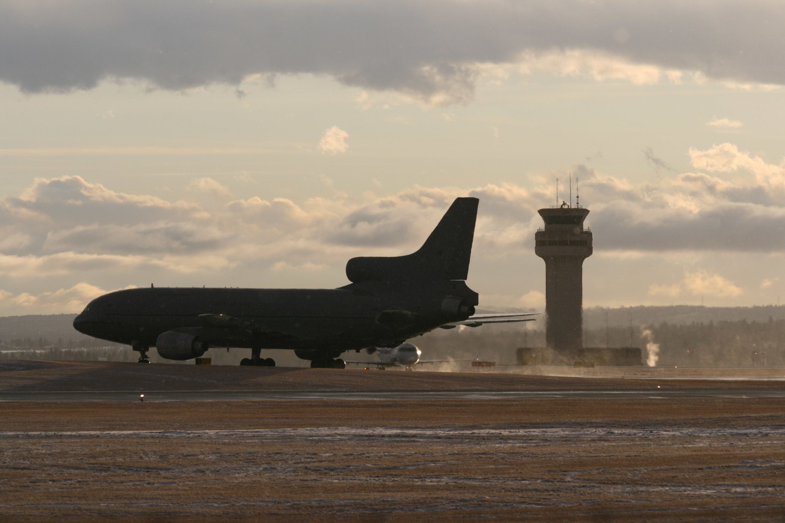 RCAF departing from YYC