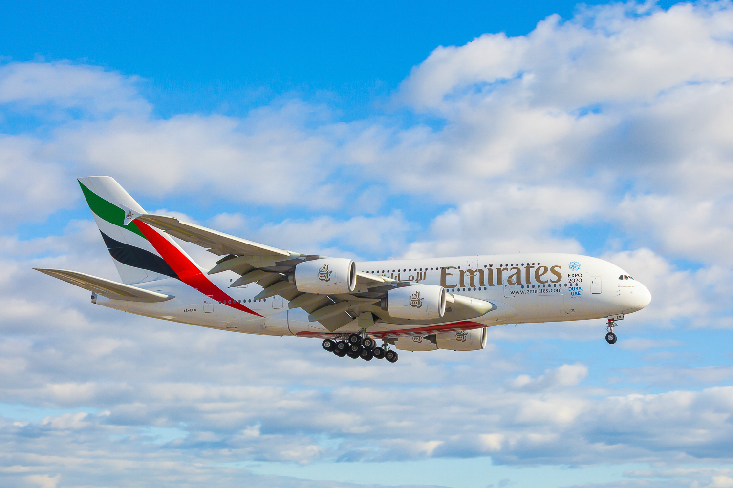 A380 On Approach