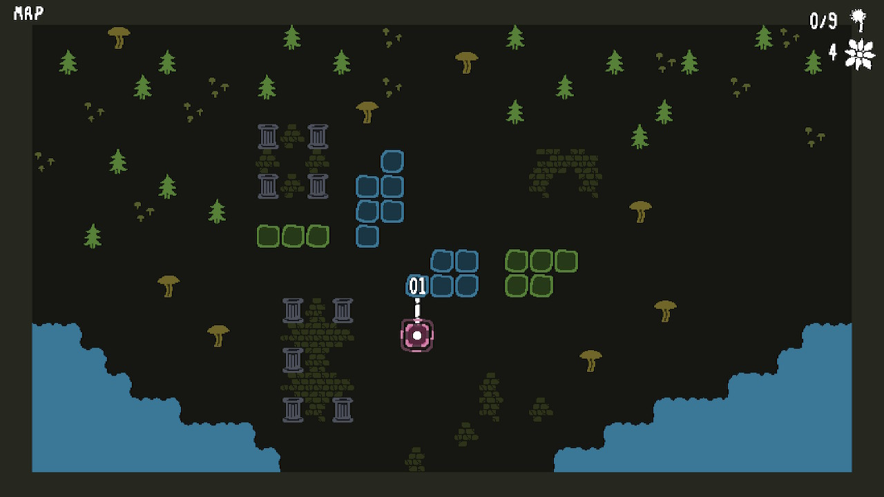 Initial Forest Map.