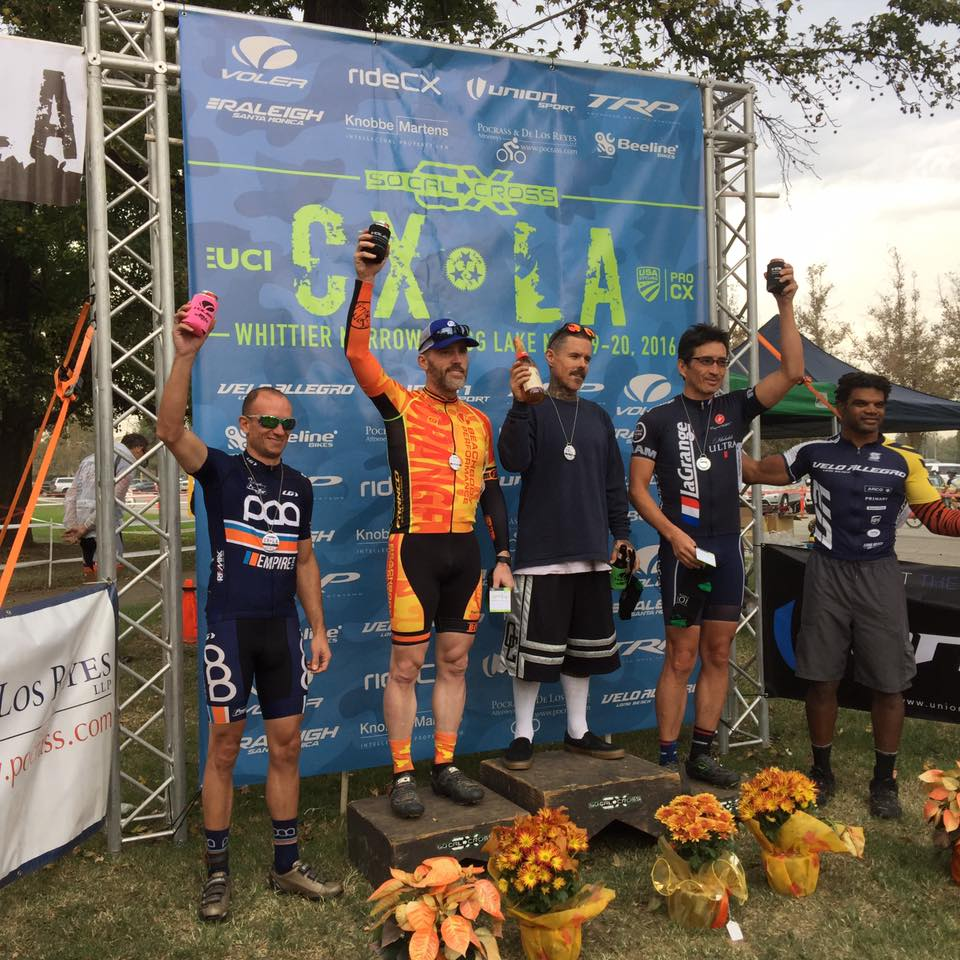 Another weekend, another cyclocross podium for 2016 Best Masters Racer Dan Funk.