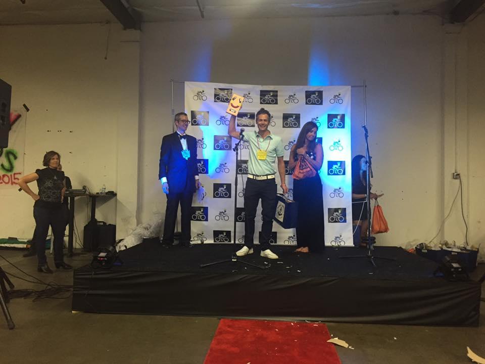 James Cowan wins the Belgian Award!
