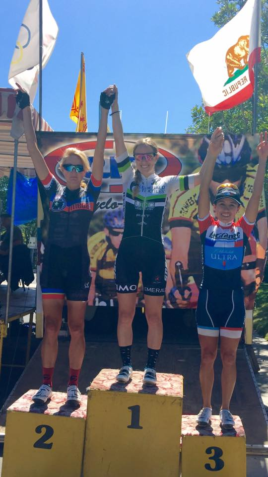 Another podium for Lizbeth at Cyclo Vets! This time 3rd place in the P123 race.