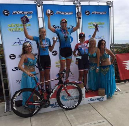 Daniela Garcia takes 3rd place at the Carlsbad Grand Prix!