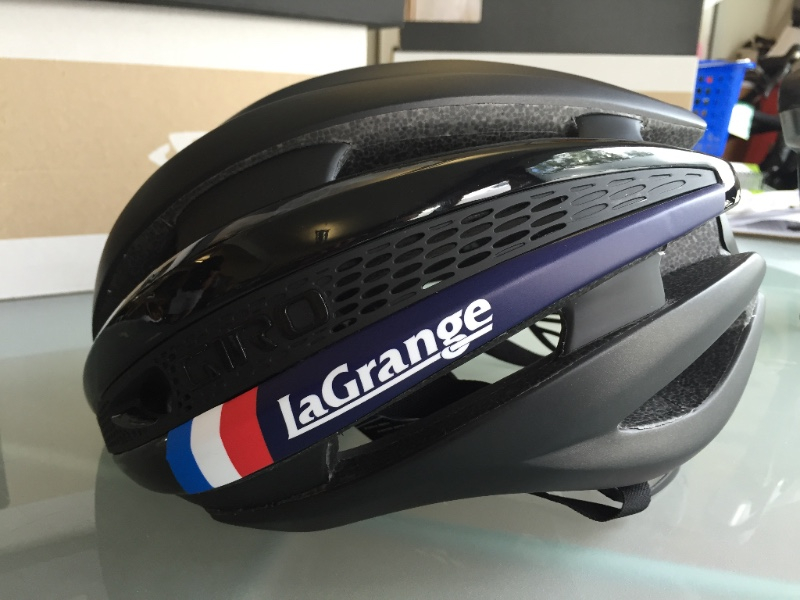 The black custom Synthe is a perfect match for our Flight School kits or any other time you want a black helmet and is the official helmet of our Flight School juniors race team.