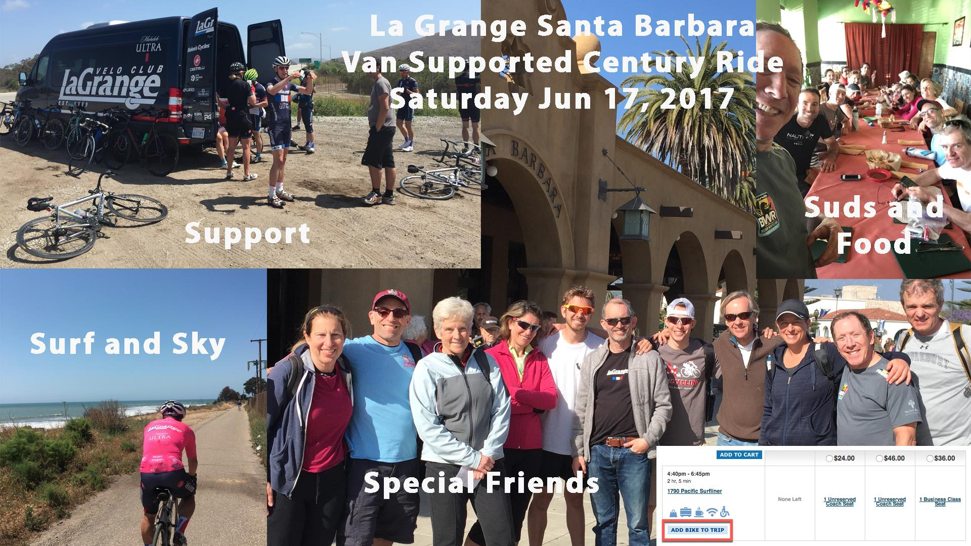 [ Ed.: Rich Hirschinger is organizing another epic ride with full SAG support! Here are the details from the  FB event page . ]