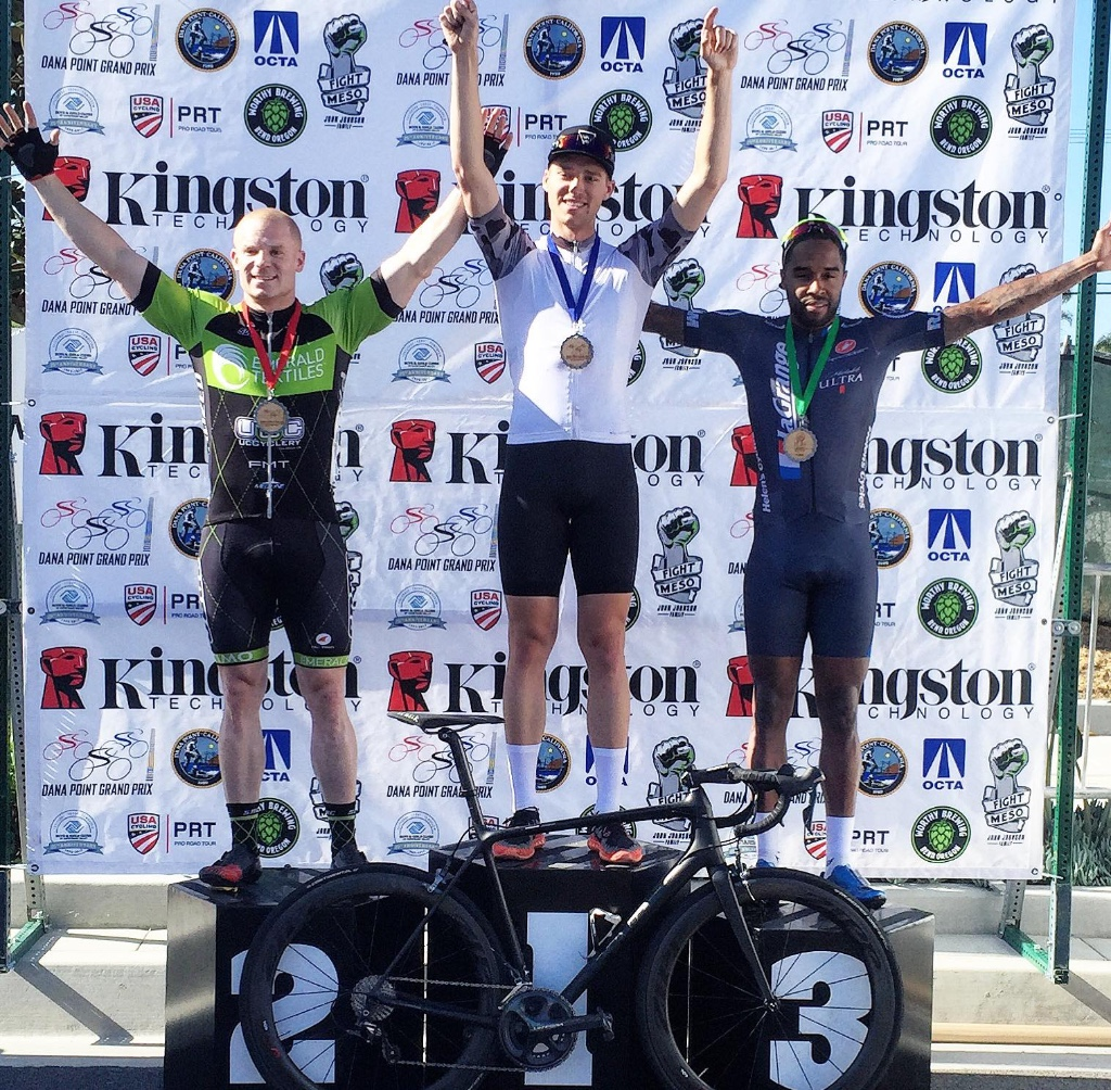 It's getting tough to keep up with Elijah's podiums. This one got submitted just before the publication deadline - 3rd place after getting caught behind a crash on the penultimate lap of yesterday's Dana Point Grand Prix.