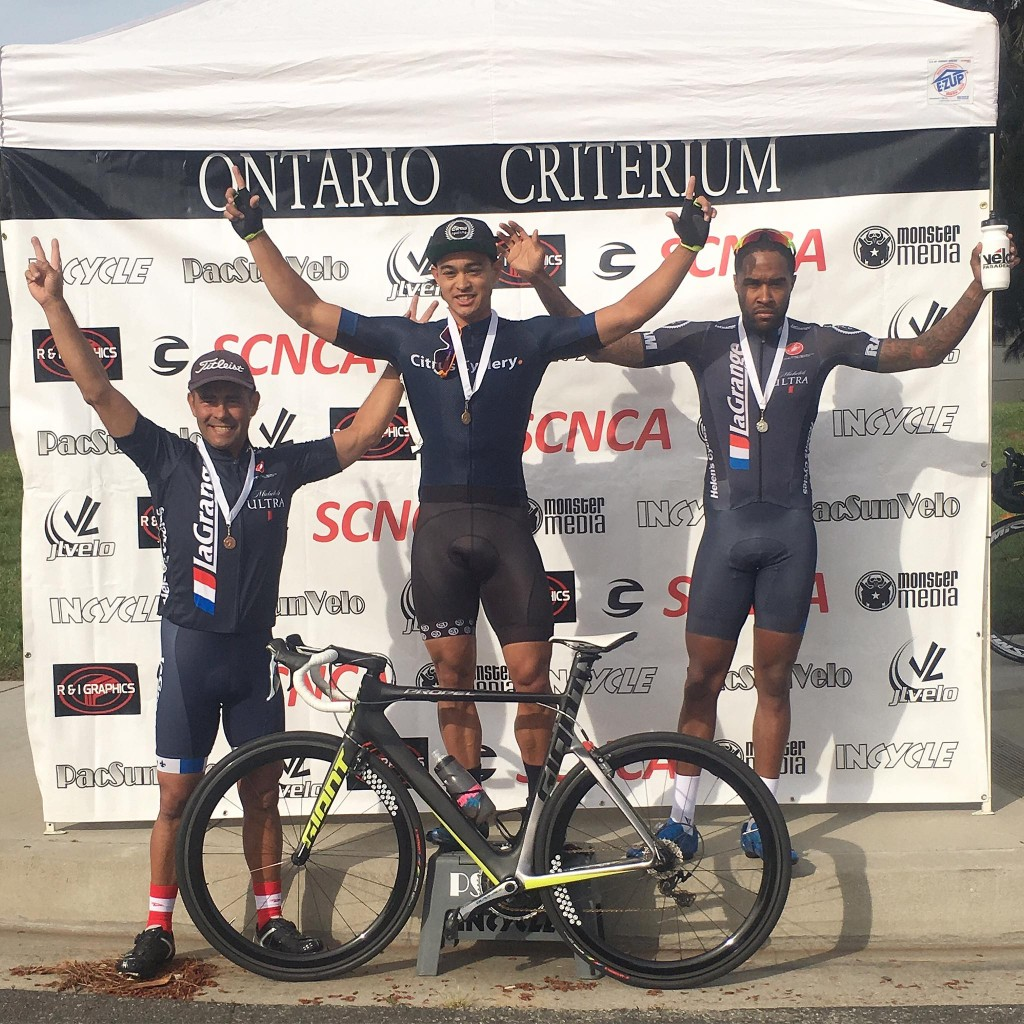 Another 2nd place and podium for Elijah Shabbaz at the Easter Sunday Ontario Criterium!