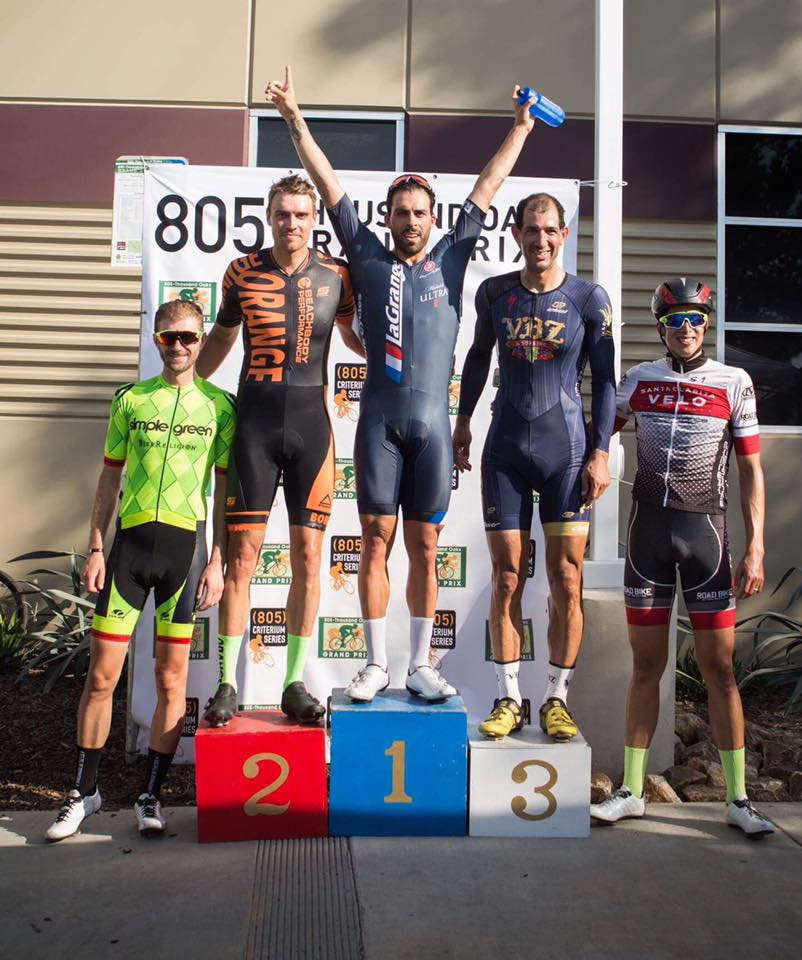 Marco Fabrizio with a strong win in the Mens Cat 3 805 Thousand Oaks Criterium!