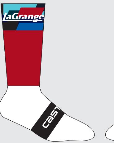 Red base Aero Sock